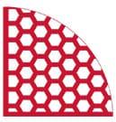 PUCEST Hexagon-Protector XL für Körnung 0 - 16 mm