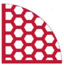 PUCEST Hexagon-Protector XXL für Körnung 0 - 32 mm